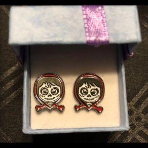 Disney Coco- Miguel sugar skull earrings